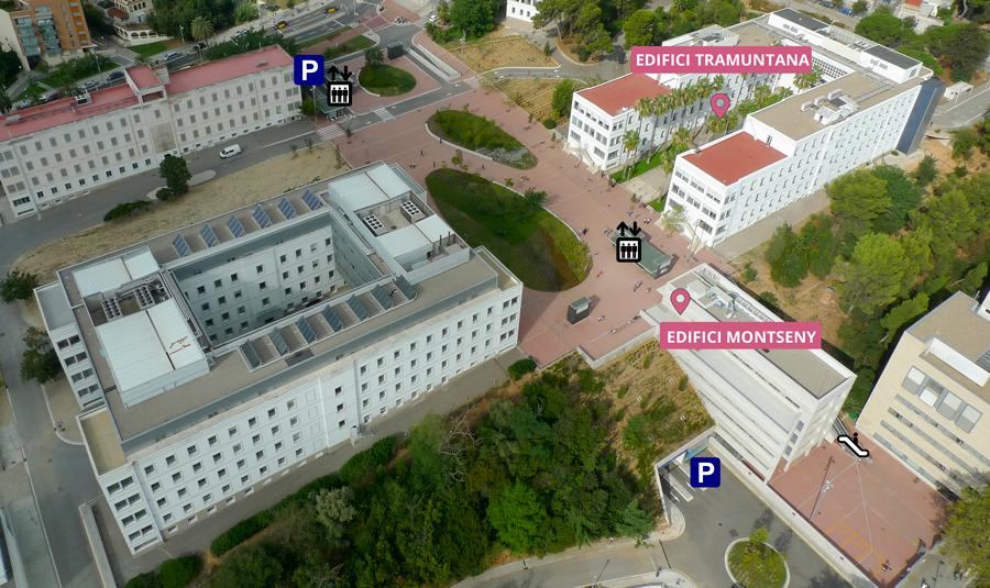 imatge del recinte del Parc Sanitari Pere Virgili