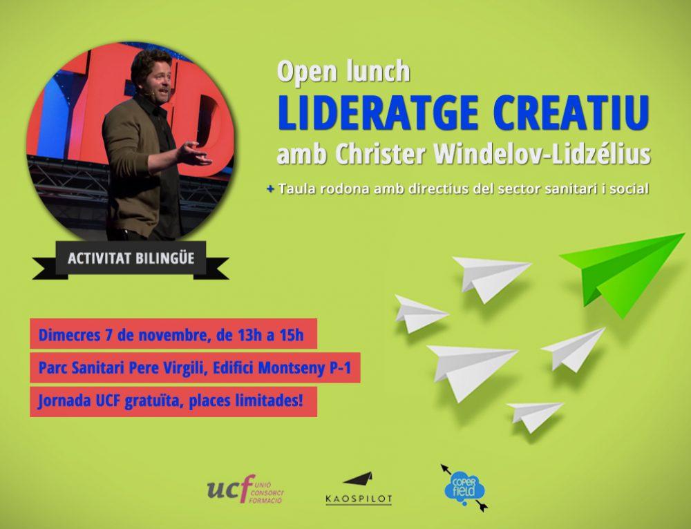 Jornada Open Lunch: Lideratge creatiu