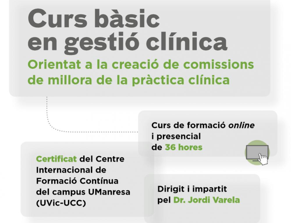 Curs bàsic en Gestió clínica