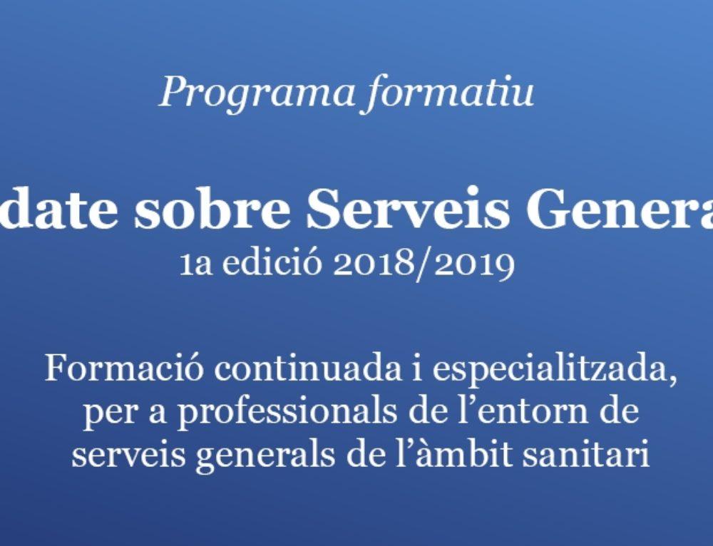 Finalitza la 1a edició del programa formatiu d'Update en Serveis Generals