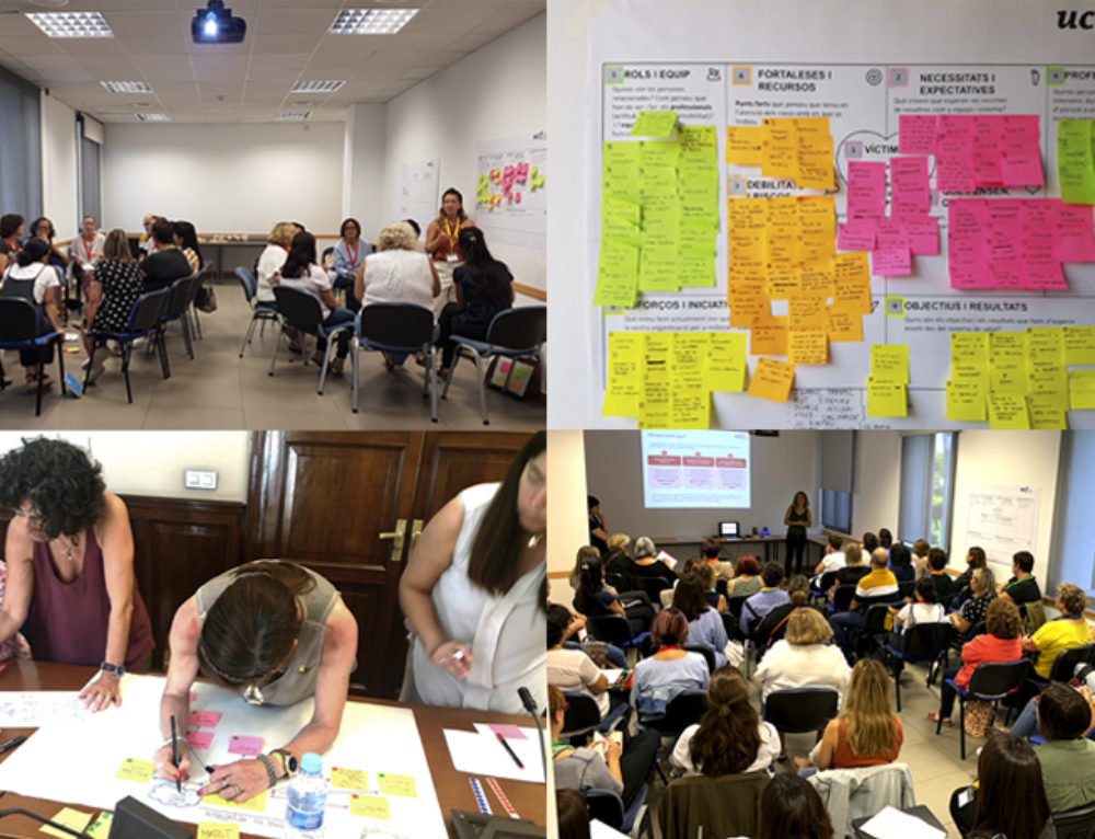 Projecte formatiu en violència de gènere pels professionals del sector salut i social