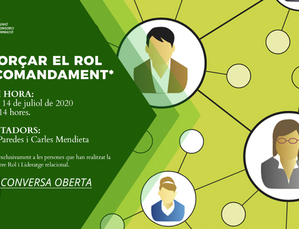 """Sessió participativa per videoconferència: """"Reforçar el rol de comandament"""""""