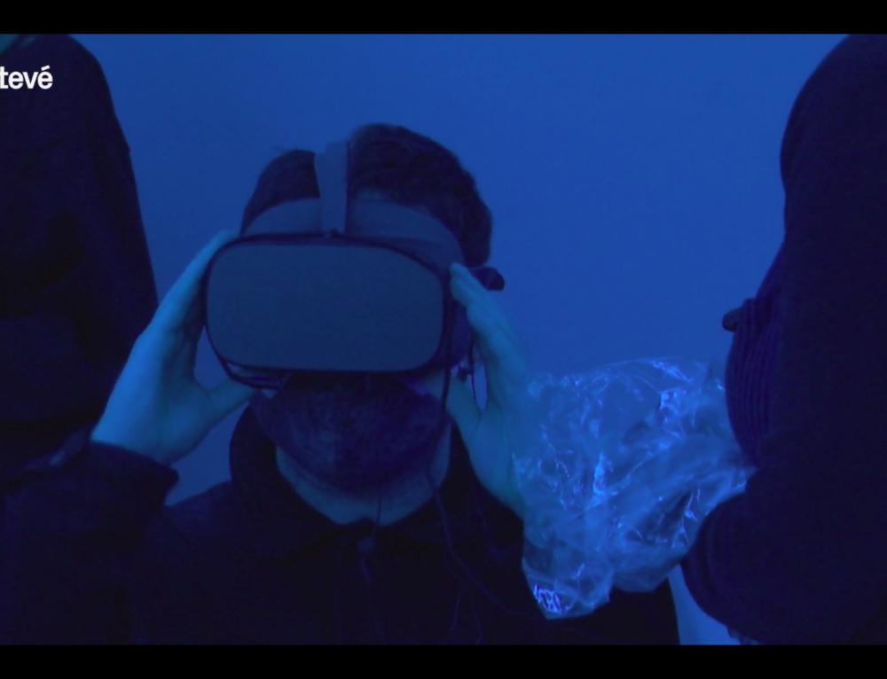 """Presentació del vídeo 360 """"Obre els ulls a la violència masclista"""""""